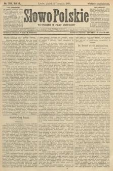 Słowo Polskie (wydanie popołudniowe). 1904, nr390