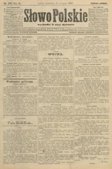 Słowo Polskie (wydanie poranne). 1904, nr399