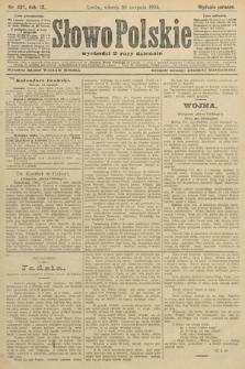 Słowo Polskie (wydanie poranne). 1904, nr407