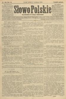 Słowo Polskie (wydanie poranne). 1904, nr413