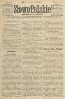 Słowo Polskie (wydanie poranne). 1904, nr419