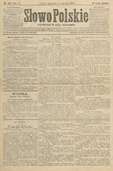 Słowo Polskie (wydanie poranne). 1904, nr423