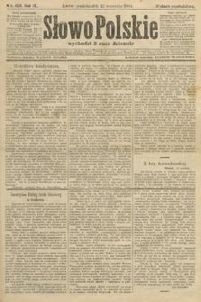 Słowo Polskie (wydanie popołudniowe). 1904, nr429