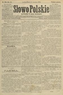 Słowo Polskie (wydanie poranne). 1904, nr430