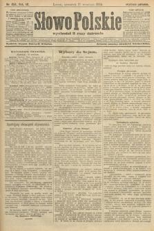 Słowo Polskie (wydanie poranne). 1904, nr434