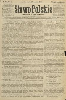 Słowo Polskie (wydanie popołudniowe). 1904, nr455