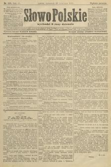 Słowo Polskie (wydanie poranne). 1904, nr458