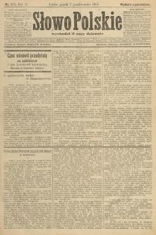 Słowo Polskie (wydanie popołudniowe). 1904, nr472