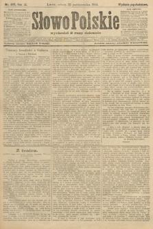 Słowo Polskie (wydanie popołudniowe). 1904, nr498