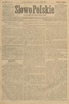 Słowo Polskie (wydanie poranne). 1904, nr499
