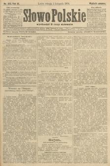 Słowo Polskie (wydanie poranne). 1904, nr513