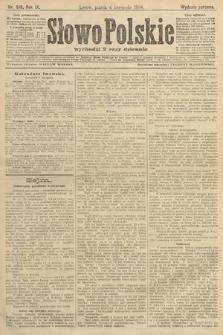 Słowo Polskie (wydanie poranne). 1904, nr518