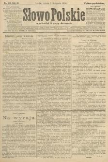 Słowo Polskie (wydanie popołudniowe). 1904, nr521