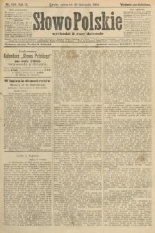 Słowo Polskie (wydanie popołudniowe). 1904, nr529