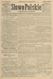 Słowo Polskie (wydanie poranne). 1904, nr554