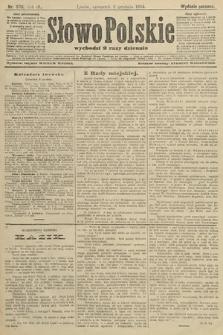Słowo Polskie (wydanie poranne). 1904, nr576
