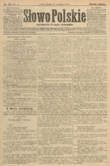 Słowo Polskie (wydanie poranne). 1904, nr589