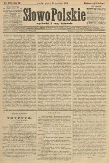 Słowo Polskie (wydanie popołudniowe). 1904, nr590