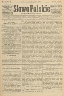 Słowo Polskie (wydanie poranne). 1904, nr601
