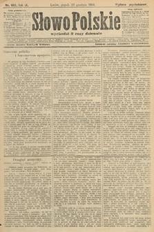 Słowo Polskie (wydanie popołudniowe). 1904, nr602