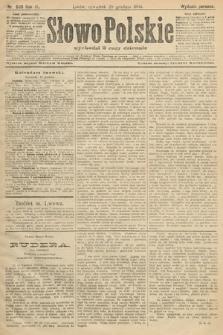 Słowo Polskie (wydanie poranne). 1904, nr608