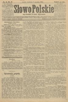 Słowo Polskie (wydanie poranne). 1906, nr10