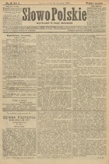 Słowo Polskie (wydanie poranne). 1906, nr14