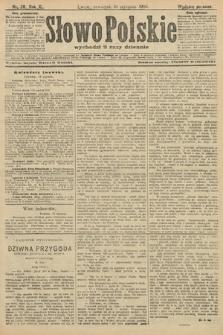 Słowo Polskie (wydanie poranne). 1906, nr28