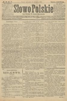 Słowo Polskie (wydanie popołudniowe). 1906, nr29