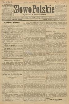 Słowo Polskie (wydanie poranne). 1906, nr36