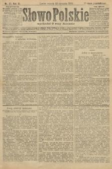 Słowo Polskie (wydanie popołudniowe). 1906, nr37