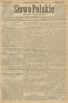 Słowo Polskie (wydanie poranne). 1906, nr38