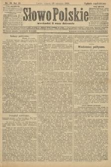 Słowo Polskie (wydanie popołudniowe). 1906, nr49