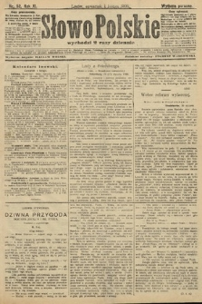 Słowo Polskie (wydanie poranne). 1906, nr52