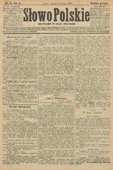 Słowo Polskie (wydanie poranne). 1906, nr54