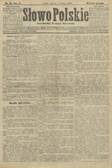 Słowo Polskie (wydanie poranne). 1906, nr65
