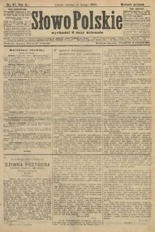 Słowo Polskie (wydanie poranne). 1906, nr67