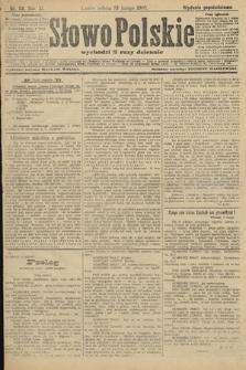 Słowo Polskie (wydanie popołudniowe). 1906, nr68