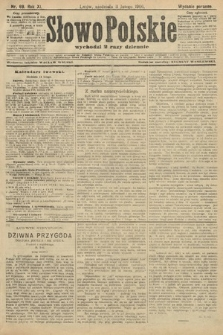 Słowo Polskie (wydanie poranne). 1906, nr69
