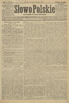 Słowo Polskie (wydanie poranne). 1906, nr71