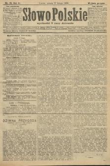 Słowo Polskie (wydanie poranne). 1906, nr79