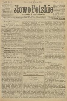Słowo Polskie (wydanie poranne). 1906, nr85
