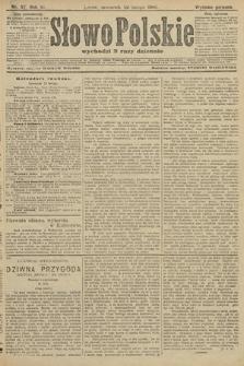Słowo Polskie (wydanie poranne). 1906, nr87