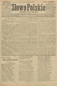 Słowo Polskie (wydanie popołudniowe). 1906, nr96