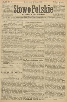 Słowo Polskie (wydanie poranne). 1906, nr97