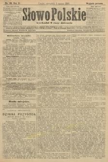 Słowo Polskie (wydanie poranne). 1906, nr99