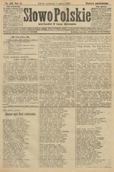 Słowo Polskie (wydanie popołudniowe). 1906, nr100