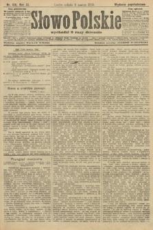 Słowo Polskie (wydanie popołudniowe). 1906, nr104