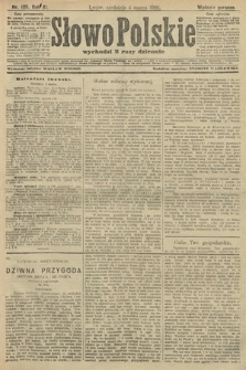 Słowo Polskie (wydanie poranne). 1906, nr105
