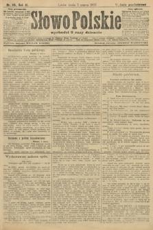 Słowo Polskie (wydanie popołudniowe). 1906, nr110